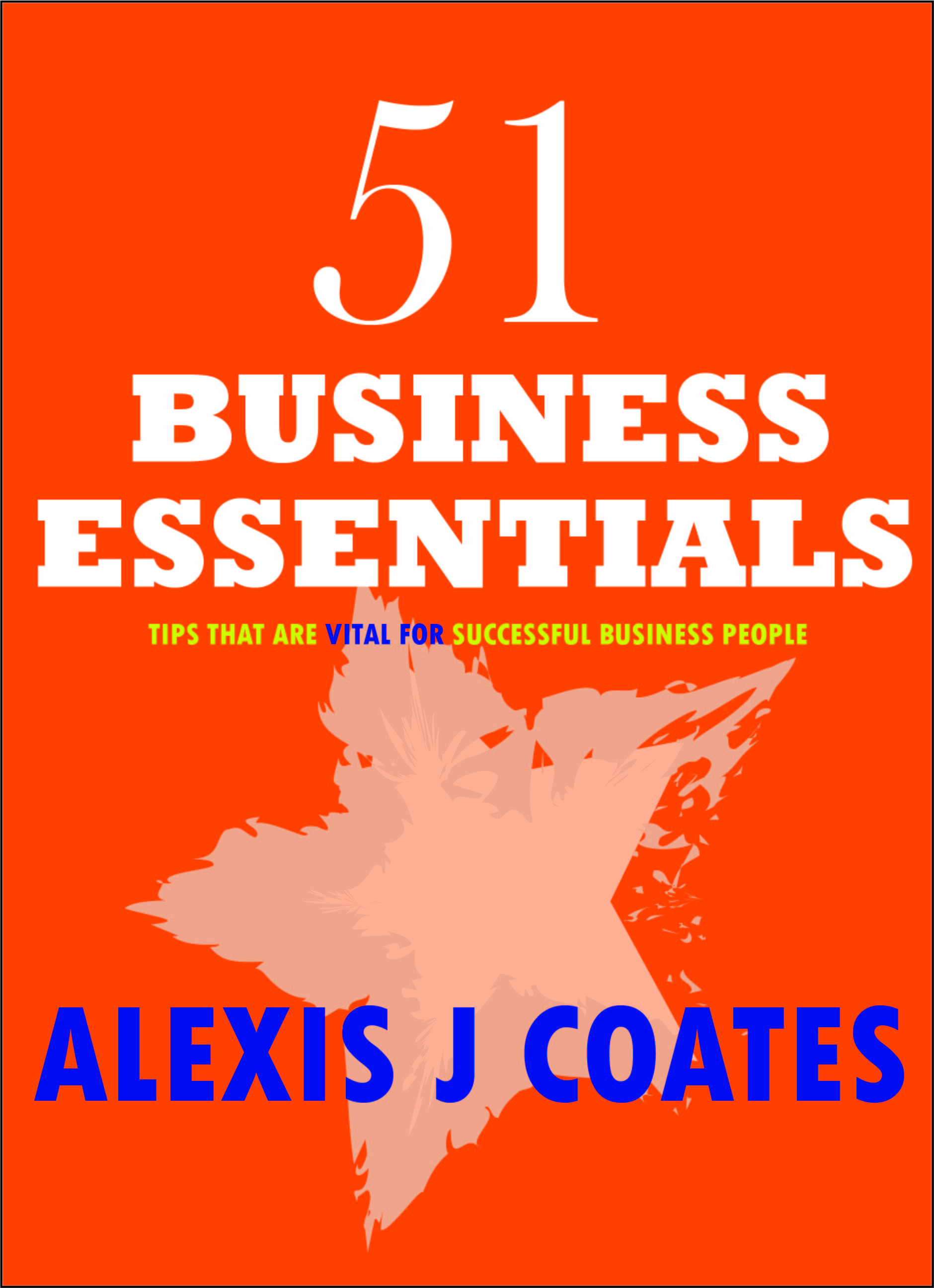 51 BUSINESS ESSENTIALS COVER