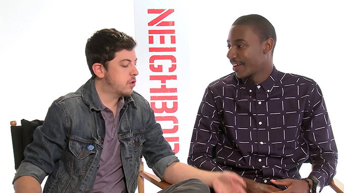 NEIGHBORS Interview: Zach Efron, Dave Franco, Christopher Mintz-Plasse & Jerrod Carmichael