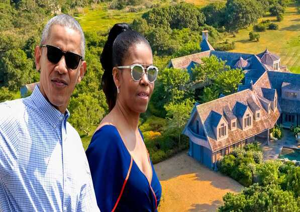 The Obama family has previously spent summer vacations on Martha's Vineyard.